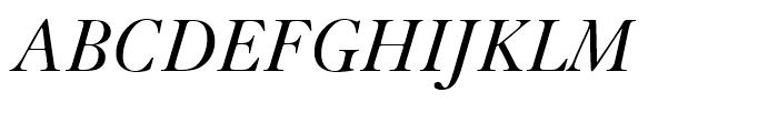 Kis Italic Font UPPERCASE