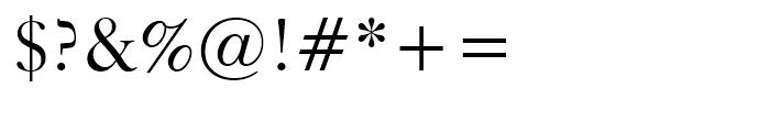 Kis Roman Font OTHER CHARS