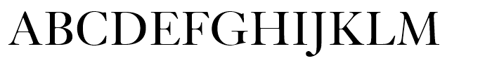 Kis Roman Font UPPERCASE