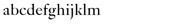 Kis Roman Font LOWERCASE