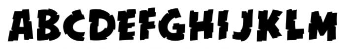 Kill Zone Regular Font UPPERCASE