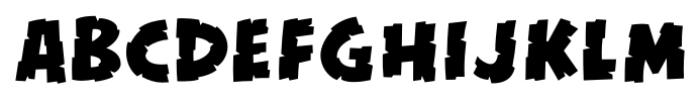 Kill Zone Regular Font LOWERCASE