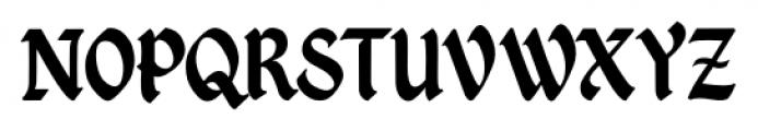 Kingthings Petrock Pro Regular Font UPPERCASE