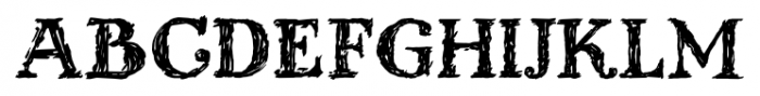 Kingthings Scrybble Pro Regular Font UPPERCASE