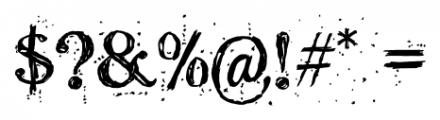 Kingthings Scrybbledot Pro Regular Font OTHER CHARS