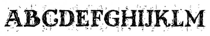 Kingthings Scrybbledot Pro Regular Font UPPERCASE