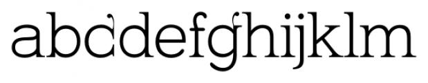 Kingthings Serifique Pro Light Font LOWERCASE