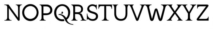 Kingthings Serifique Pro Regular Font UPPERCASE
