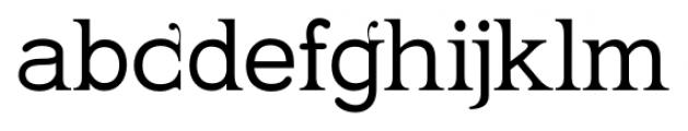 Kingthings Serifique Pro Regular Font LOWERCASE