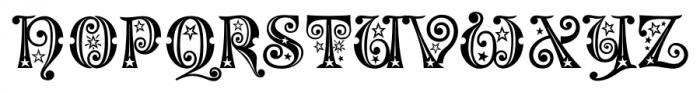 Kingthings Willow Pro Regular Font UPPERCASE