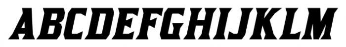 Kirsty Bold Italic Font UPPERCASE