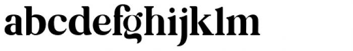 Kiano Regular Font LOWERCASE