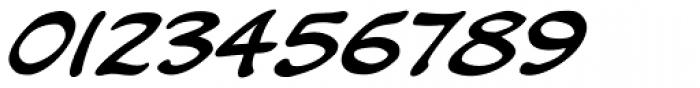 Kickback Italic Font OTHER CHARS