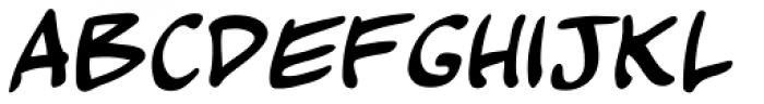Kickback Font UPPERCASE