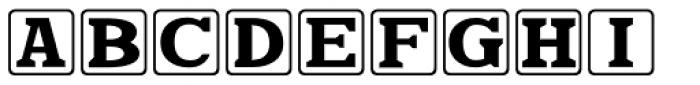 Kiddie Blokz JNL Font LOWERCASE