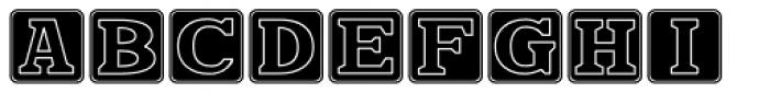 Kiddie Blokz Solid JNL Font LOWERCASE