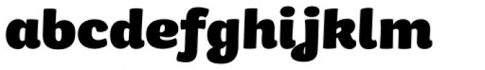 Kiddy Kitty ExtraBold Font LOWERCASE