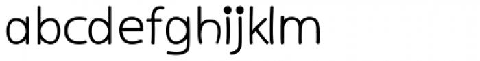 Kiddy Sans Bold Font LOWERCASE