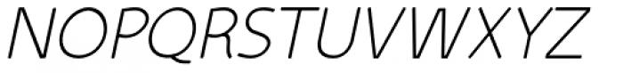 Kiddy Sans Italic Font UPPERCASE