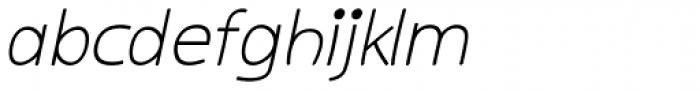 Kiddy Sans Italic Font LOWERCASE
