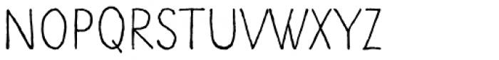 Kiddy Font UPPERCASE