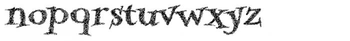 Kidela Sketch Bold Font LOWERCASE
