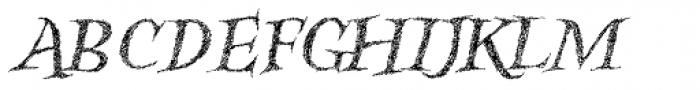 Kidela Sketch Italic Font UPPERCASE