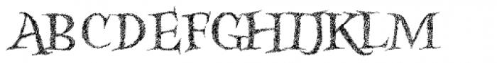 Kidela Sketch Font UPPERCASE