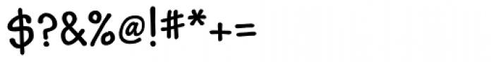 Kidprint MT Bold Font OTHER CHARS