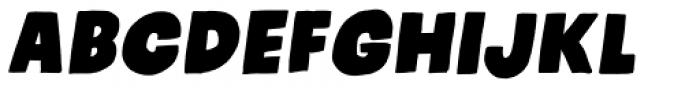 Kids Rock Italic Font UPPERCASE