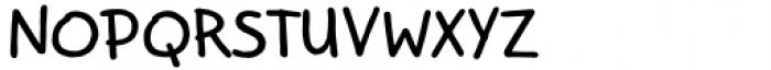Kidwriting Pro Bold Font UPPERCASE