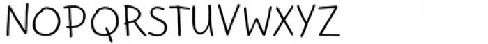 Kidwriting Pro Light Font UPPERCASE