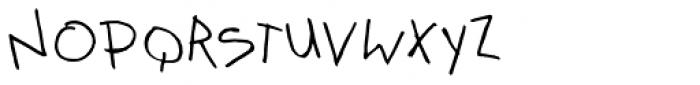 Kidwriting Recreo Font UPPERCASE
