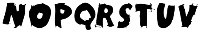 Kidy Caps Black Font UPPERCASE