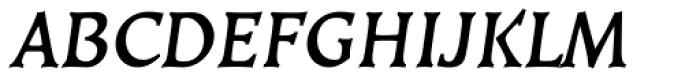 Kiev Bold Oblique SC Font UPPERCASE