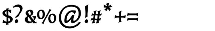 Kiev Medium SC Font OTHER CHARS