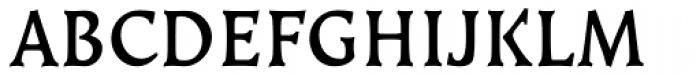 Kiev Medium SC Font UPPERCASE