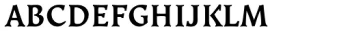 Kiev Medium SC Font LOWERCASE