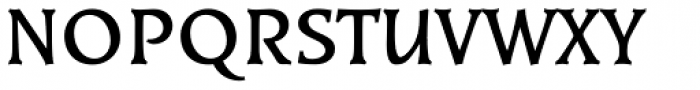 Kiev Medium Font UPPERCASE