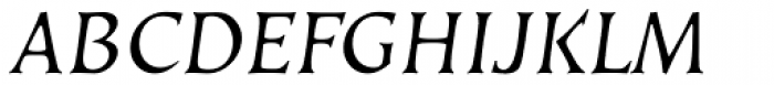 Kiev Oblique SC Font UPPERCASE