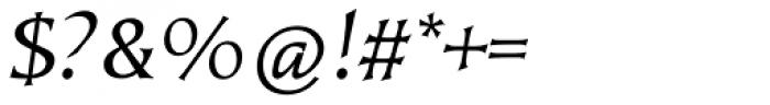 Kiev Oblique Font OTHER CHARS