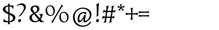 Kiev Regular Font OTHER CHARS