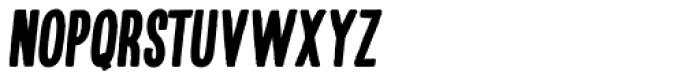 Kikster Black Italic Font UPPERCASE