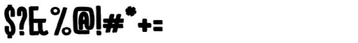 Kikster Black Font OTHER CHARS