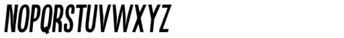 Kikster Bold Italic Font LOWERCASE