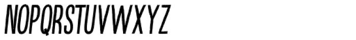 Kikster Italic Font UPPERCASE