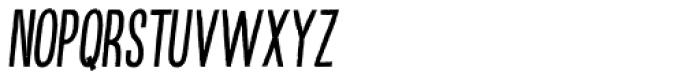 Kikster Italic Font LOWERCASE
