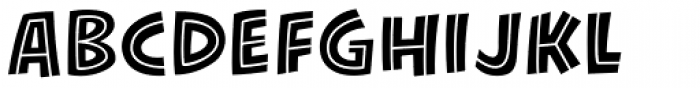 KillJoy Inline Regular Font LOWERCASE
