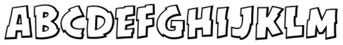 KillSwitch Outline Regular Font UPPERCASE