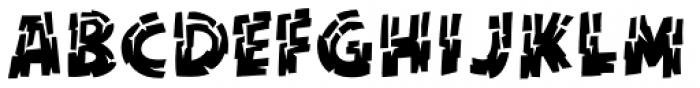 KillZone Inline Regular Font UPPERCASE